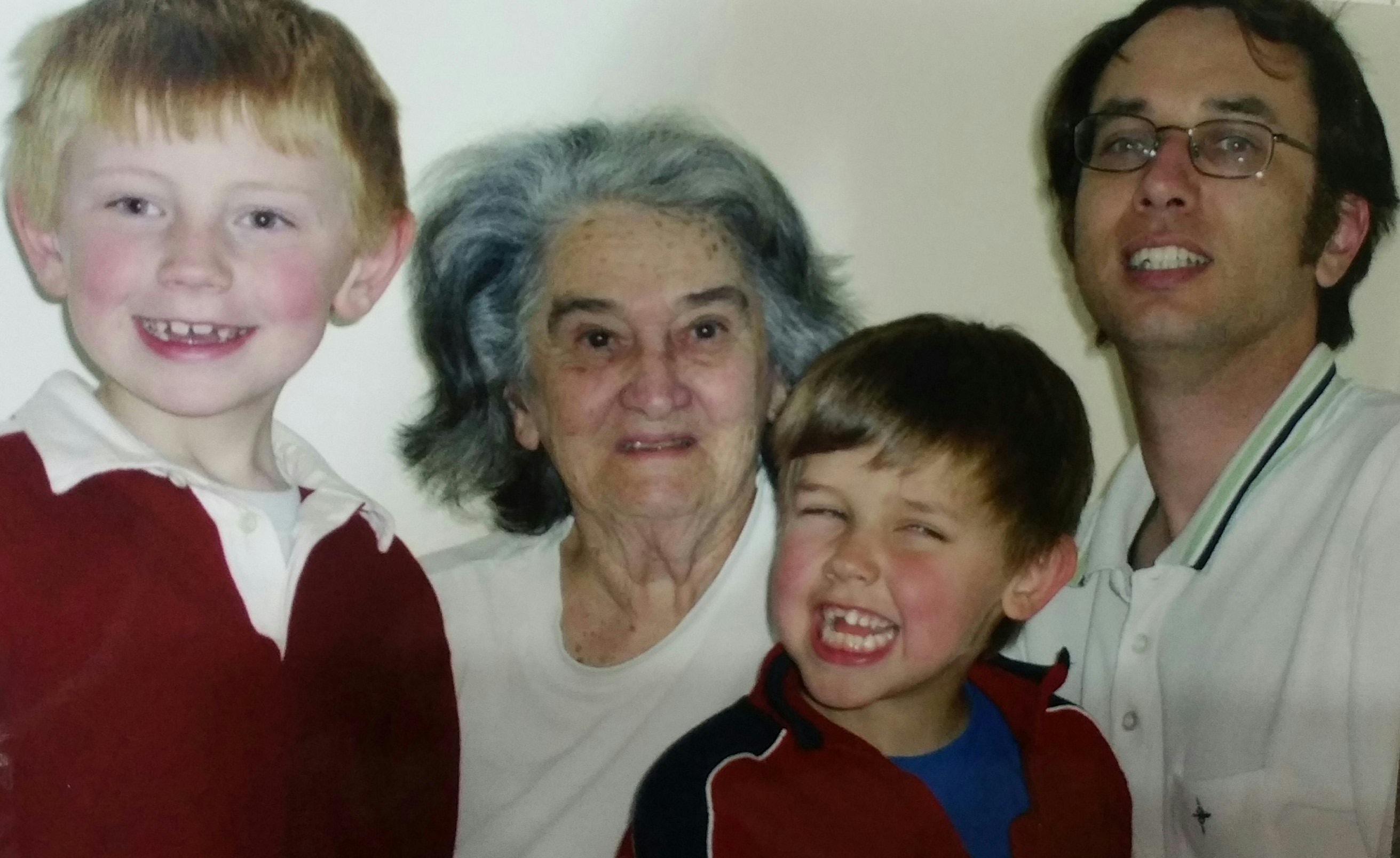 Robert, Marj, Dom & Nic